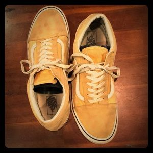 Pastel Yellow Vans